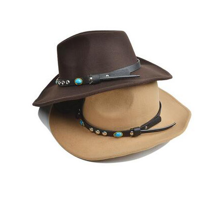5efd874e8dd8 Cowboy Fedora Hat Women s Cap